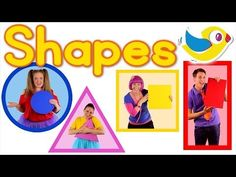 ▶ The Shapes Song - Learn shapes (featuring Debbie Doo!) - YouTube