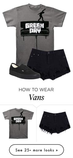 """""""Untitled #585"""" by bands-are-my-savior on Polyvore featuring Vans"""