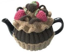 tea cosies knitting patterns free - Google Search