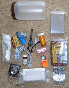I've a survival package that I tackle canoe journeys and a few adventures. On our l.... >>> Learn even more at the picture Check more at http://www.wintercampers.com/2016/06/04/survival-kit/