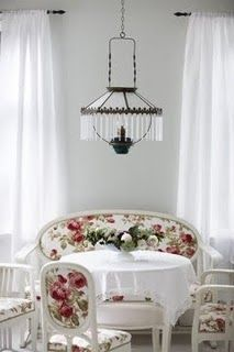 Love the Love Seat against the wall for part of the seating !