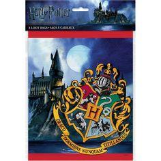 8 Count Unique Harry Potter Goodie Bags