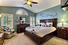 Color scheme idea for master bedroom