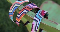 Funky Spin on Fashion! Zig Zag Print Headbands - FREE SHIPPING ON ALL ORDERS!