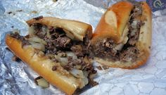 Jimmy G's Steaks Chopped steak, American cheese and fried onions.