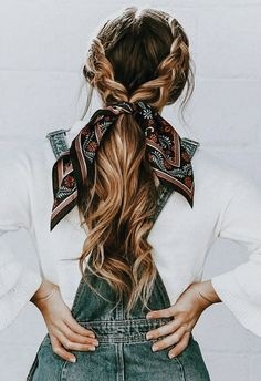 Shaved Side Hairstyles, Scarf Hairstyles, Pretty Hairstyles, Easy Hairstyles, Hairstyle Ideas, Hairstyles 2018, School Hairstyles, Wedding Hairstyles, Hairstyle Short