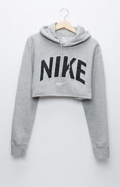 Retro Gold Nike Gray Pullover Hoodie at PacSun.com