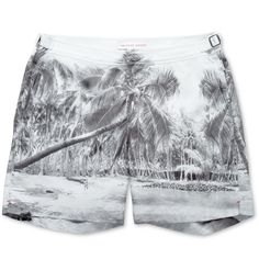 Orlebar Brown - Palm-Print Swim Shorts