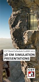 3D Electromagnetic Simulation Presentations at EuMW