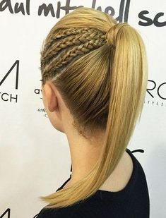 Braided+Ponytail+Hairstyles+|+40+Cute+Ponytails+with+Braids