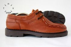 NEW Vintage Puma OXFORD Shoes /  Leather Casual Loafers   For sale at HTVshop
