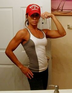 Why Women Should Lift Heavy Weights - I would LOVE her arms!