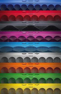 Pocketable. Colorful. Giftable. #MINIJAMBOX by @Jawbone.