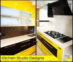 The right combination of colours plays an important role for a pleasant kitchen ambience. Let ‪#‎KitchenStudio‬ plan it right to suit your lifestyle and compliment your ‪#‎kitchen‬.