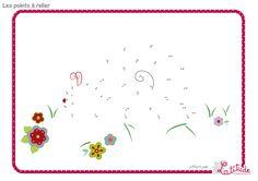 Demandez à vos enfants de relier les points du dessins et découvrez ce que cache ce dessin. Par Latitude Enfant  http://www.latitudeenfant.fr/nos-surprises/