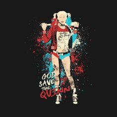 "Suicide Squad Harley Quinn ""God Save the Quinn"" T-Shirt"