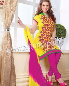 Beautiful Cozy Cotton Embroidered Suits To Buy Visit www.zikimo.com or contact us M : 91 8284833733 http://ift.tt/1LMfJIw - http://ift.tt/1HQJd81
