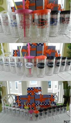 Wedding Party Tervis Tumblers