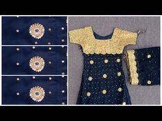 Mirror work design 2020 | Dress design ideas | Sindhi Barth design Sindhi kadhai | Clothes Designs - YouTube Mirror Work Kurti, Mirror Work Dress, Work Suits, Designs, Designer Dresses, Dresses For Work, Youtube, Clothes, Fashion