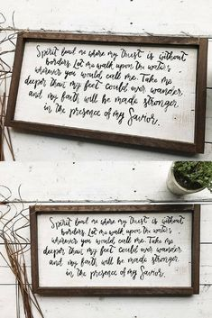 I love these lyrics! Definitely something that I would love to read every day and keep in mind. Hillsong United - Oceans. Hand painted wooden oceans lyrics pallet sign spirit lead me where my trust is without borders home decor #affiliate