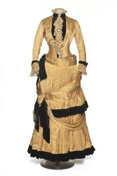 2-piece dress by Chauvet. France 1884-1886