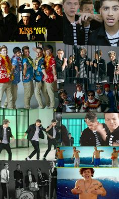 Kiss You music video (: xx