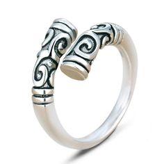 Thai silver Ethnic ring