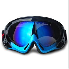 3ce8cb28e Feier Yusi Adult Professional Ski Goggles Snowmobile Snowboard Skate Snow  Skiing Goggles with 100% UV400 Protection Bright lens TPC Frame Material  Anti Sand ...