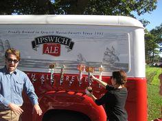 #Cupcake dream Wedding. Beer truck. (Hefeweizen)