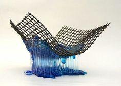 Glaskunst Ellen Prinse bij Atelier-Expo Anita Ammerlaan