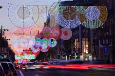 Festive Holiday Lights Decorate Madrid's City Streets - My Modern Metropolis. I want to live in Spain.