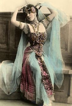 Turn of the century dancer