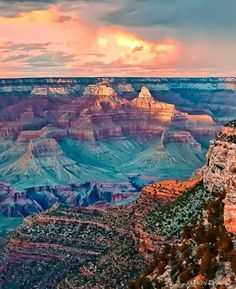 Grand Canyon Sunset. This was my most favorite place. I've been there twice and would go back in a heart beat!