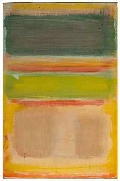 yellow and green inspiration // Mark Rothko - (Untitled) 1949 Franz Kline, Mondrian, Abstract Painters, Abstract Art, Rothko Art, Modern Art, Contemporary Art, Art Moderne, Henri Matisse