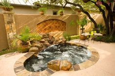 Outdoor Hot Tubs Design Ideas, Pictures, Remodel, and Decor - page 3