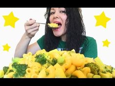 Mac and Cheese Mukbang 먹방 Eating Show - YouTube