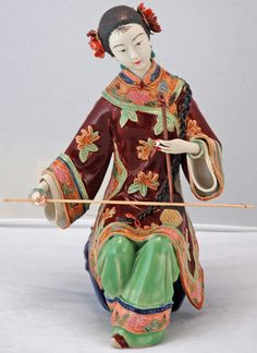 -porcelain-collectible-chinese-figurine by Silk Road Collection, via Flickr