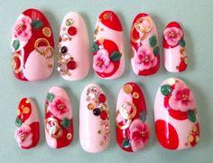 pink/red yukata