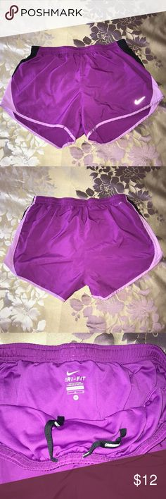 Nike Dri fit shorts Gently worn shorts with attached undergarment. Nike Shorts