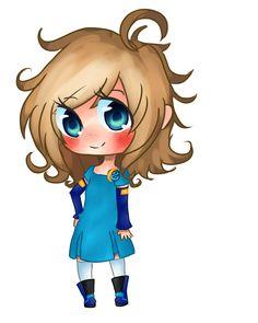 Inori Aizawa - Internet Explorer 10 Outfit by Rockgirl-Sama