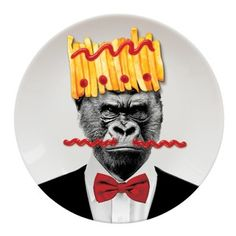 Talíř Wild Dining Gorila