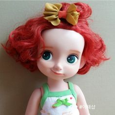 Merida with a nice short haircut Another great Disney Animator Doll by yachaeshop