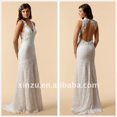 Backless 2014 crochet lace v- pescoço vestido de noiva sexy t-112645-Vestidos de Noiva-ID do produto:485833475-portuguese.alibaba.com