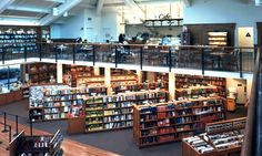 Bookstore - light and open
