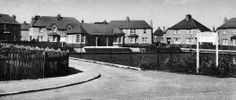 Old photograph of the Lawn Bowling Green in Leven in Fife, Scotland