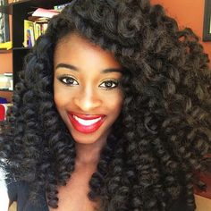 long curly crochet braids