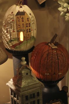 Fall Carved Pumpkins. One of my favorites at the shop!