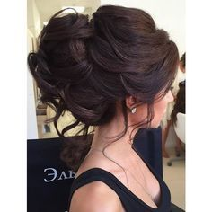 Elstile wedding hairstyles for long hair 33 ❤ liked on Polyvore featuring hair and wedding