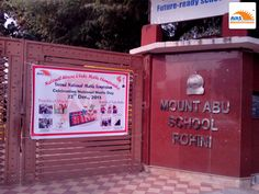 National Level ABACUS and VEDIC MATH championship at Mt ABU Public School, Sec 5, Rohini organized by AVAS INDIA