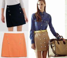 Waist Skirt, High Waisted Skirt, Gucci, Html, Mini Skirts, Inspiration, Fashion, High Skirts, Style